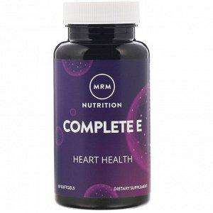 MRM, Питание, комплекс с витамином E, 60 мягких таблеток