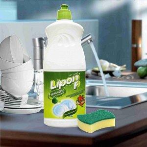 """LION """"Lipon"""" Средство для мытья посуды  500мл (пуш-пул)  Бергамот"""