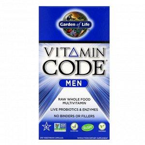 Garden of Life, Vitamin Code, Men, 240 Vegetarian Capsules