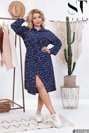 Платье-рубашка 60576