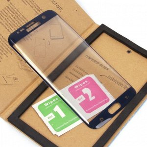 Защитное стекло для Samsung Galaxy S6 edge plus на полный экран, арт.008742