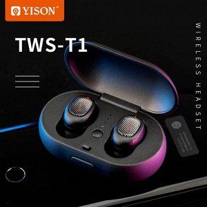 Беспроводные наушники Yison TWS-T1, арт.011070