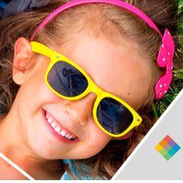 Солнцезащитные очки POLAROID, LEGNA, INVU — Polaroid детские — Солнечные очки