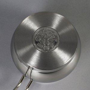 Чайник «Сфера», 1,7 л, фиксированная ручка, пятислойное капсульное дно