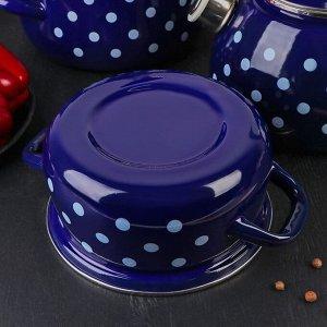 Набор посуды «Моника», 4 предмета: кастрюли 1,5 л, 2 л, 3 л, чайник 2 л