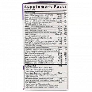 New Chapter, 40+ Every Woman&#x27 - s One Daily Multi, мультивитамины для женщин после 40, 72 растительные таблетки