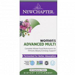 New Chapter,  Комплекс Мультивитаминов для женщин, 120 таблеток