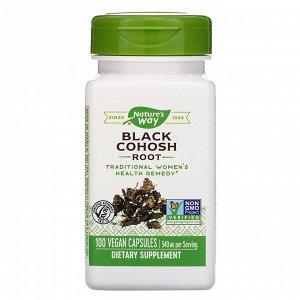 Nature&#x27 - s Way, Black Cohosh Root, 540 mg, 100 Vegan Capsules