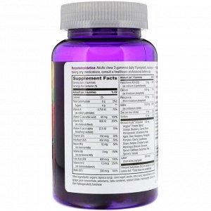 Nature&#x27 - s Way, Alive! Жевательные витамины для женщин старше 50 лет, фруктовые вкусы, 75 жевательных конфет