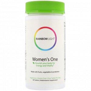 Rainbow Light, Women&#x27 - s One, 90 таблеток
