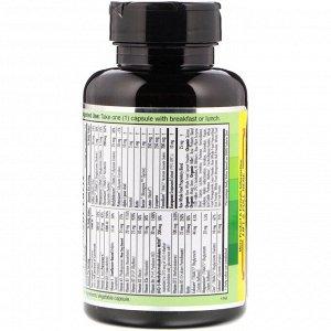 Emerald Laboratories, CoEnzymated Women&#x27 - s 1-Daily Multi, 30 растительных капсул