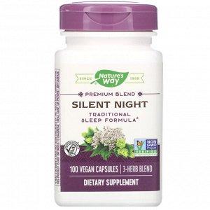 Nature&#x27 - s Way, Silent Night, 100 Vegan Capsules