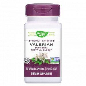 Nature&#x27 - s Way, Valerian, 220 mg, 90 Vegan Capsules