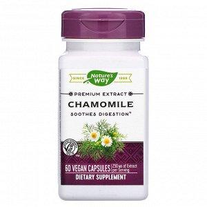 Nature&#x27 - s Way, Chamomile, 250 mg, 60 Vegan Capsules