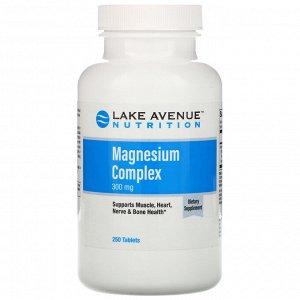 Lake Avenue Nutrition, Комплекс магния, 300 мг, 250 таблеток