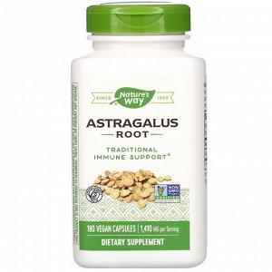 Nature&#x27 - s Way, Корень астрагала, 470 мг, 180 вегетарианских капсул