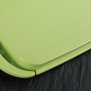 Масленка Размеры и объем масленки позволяют оптимально хранить стандартные упаковки сливочного масла весом 200г и 250г, при этом она компактна и не занимает много места. Масленка состоит из основания