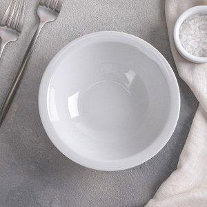 Салатник Добрушский фарфоровый завод «Тренд», 350 мл, d=16 см (покупная глазурь)