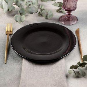 Тарелка Rosa nero, d=24 см