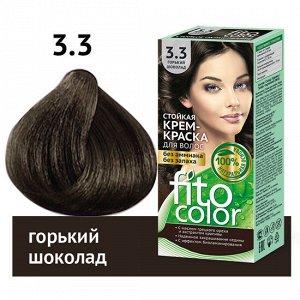 """Стойкая крем-краска для волос серии """"Fitocolor"""", тон 3.3 горький шоколад 115 мл"""