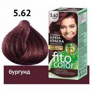 """Стойкая крем-краска для волос серии """"Fitocolor"""", тон 5.62 бургунд 115 мл"""