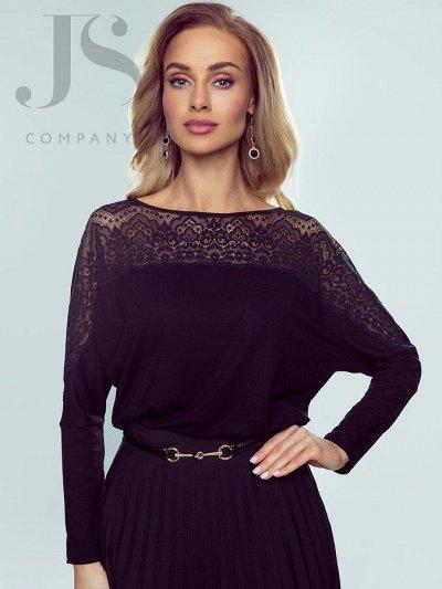 НОВИНКИ! Элегантные польские блузки, топы, футболки 41 — Eldar - блузки и майки больших размеров — Рубашки и блузы