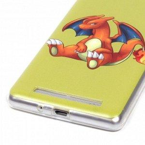 Чехол ТПУ Покемон для Xiaomi Redmi 3, арт.009219