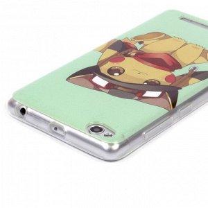 Чехол ТПУ Покемон для Xiaomi Redmi 3, арт.009214