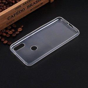 Силиконовый чехол для Xiaomi Mi Play, 1 мм, арт.008291-1
