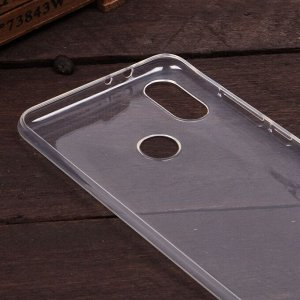 Силиконовый чехол для Xiaomi Mi A2 (Mi 6X), 1 мм, арт.008291-1