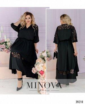 Платье №3301-черный