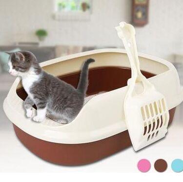 Karmy - корм для собак и кошек премиум класса! — Туалет для кошек с совком — Туалеты и наполнители