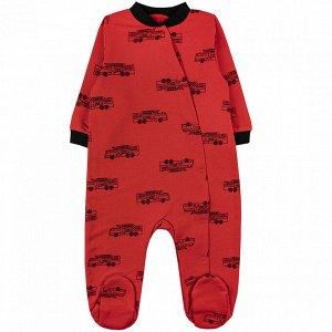 Комбинезон футер 0120300502 для новорожденного