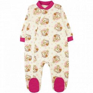 Комбинезон футер 0120300301 для новорожденного