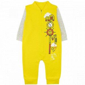 Комбинезон футер 05773001 для новорожденного