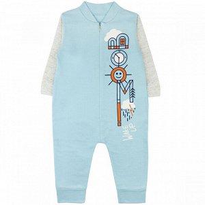Комбинезон футер 0577300102 для новорожденного