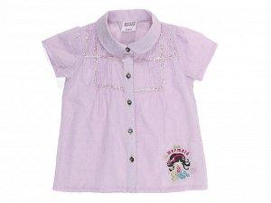 Легкая х/б блузка Sweet Berry на малышку, размер 86 (на рост 86-92 см)