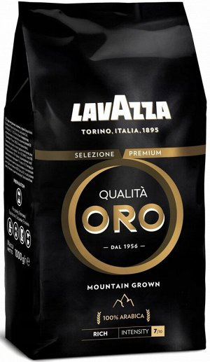 Кофе в зернах Lavazza Oro Mountain Grown 1кг