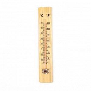 Термометр. уличный. спиртовой. дерево