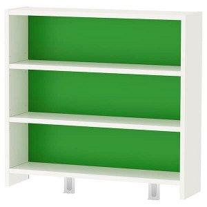 Phl поль Настольная полка, белый/зеленый64x60 см