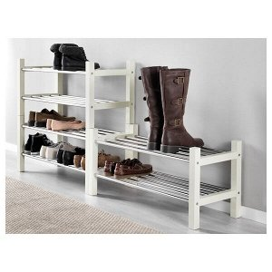 TJUSIG ЧУСИГ Полка для обуви, белый79x32x37 см