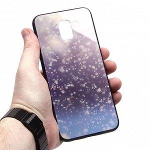 Глянцевый чехол для Samsung Galaxy J6 (2018), арт.010695