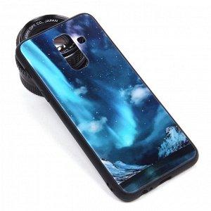 Глянцевый чехол для Samsung Galaxy J8 (2018), арт.010694