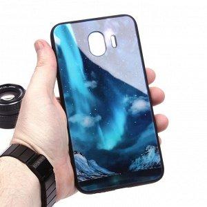 Глянцевый чехол для Samsung Galaxy J4 (2018), арт.010694
