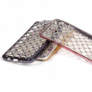 Чехол ТПУ со стразами для Samsung Galaxy J7 Prime, арт.009476