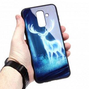 Глянцевый чехол для Samsung Galaxy J8 (2018), арт.010693