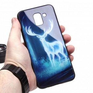 Глянцевый чехол для Samsung Galaxy J6 (2018), арт.010693