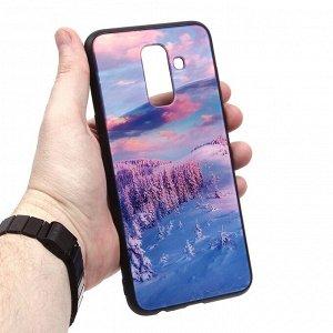 Глянцевый чехол для Samsung Galaxy J8 (2018), арт.010690