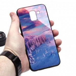 Глянцевый чехол для Samsung Galaxy J6 (2018), арт.010690