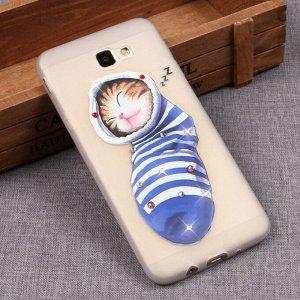 Матовый чехол со стразами для Samsung Galaxy J5 Prime, арт.009650